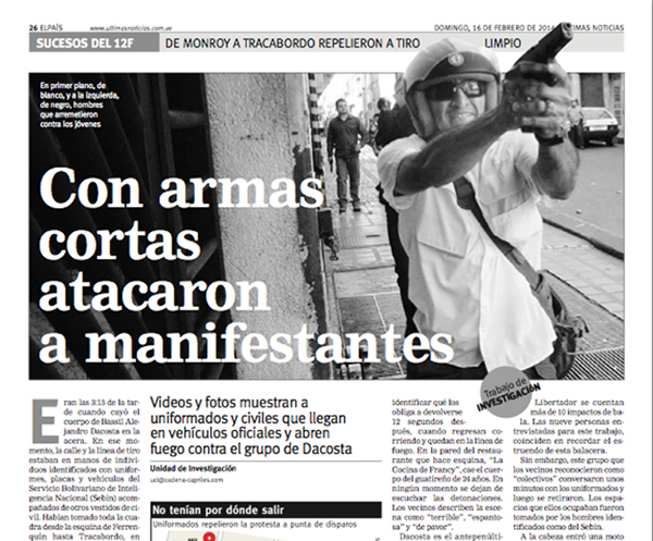 The Day Journalism Defeated The State La Vida De Nos